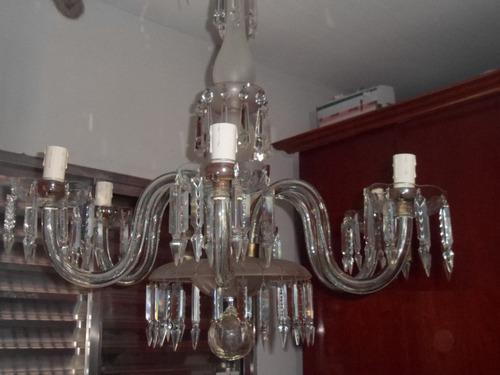 lustre de cristal antigo  promoção  500 reais de desconto...