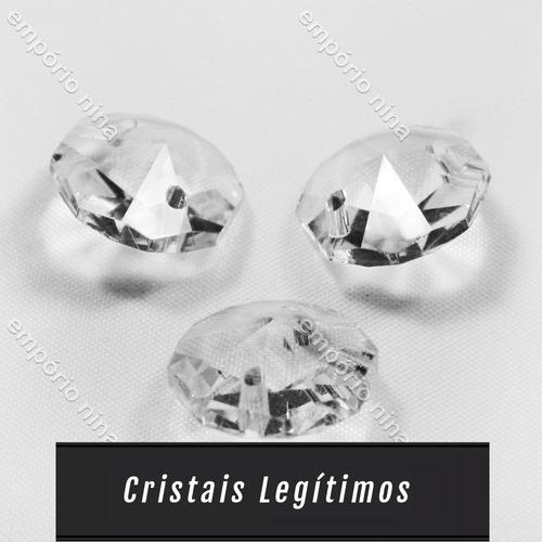 lustre de cristal cadore legítimo c315q - até 1 metro