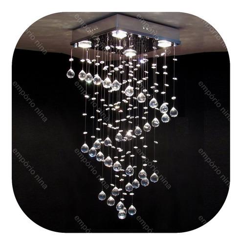 lustre de cristal egípcio asfour e335z - até 1,00 metros