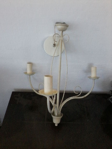 lustre de ferro marfim