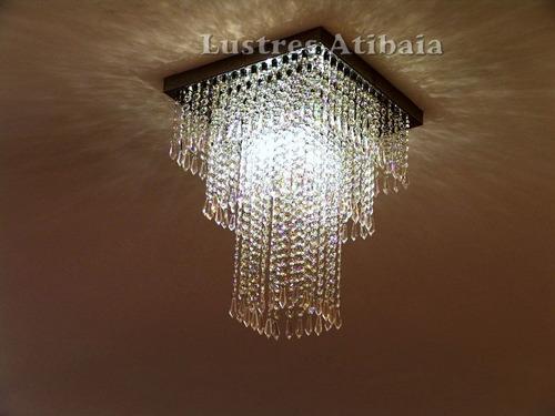lustre em cristal asfour imperial