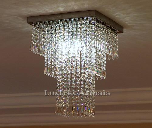 lustre em cristal legítimo imperial