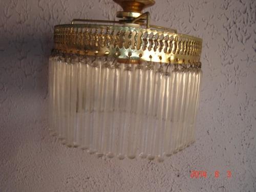 lustre luminária teto