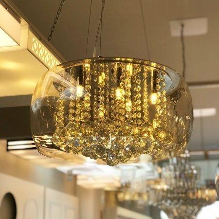 lustre para sala, quarto, cozinha 40cm attractive âmbar