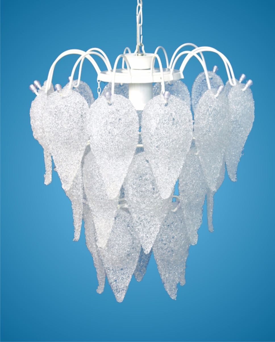Lustre Para Sala Quartos Acr Lico Alto Brilho R 122 00 Em  -> Lustres Para Sala De Teto Alto