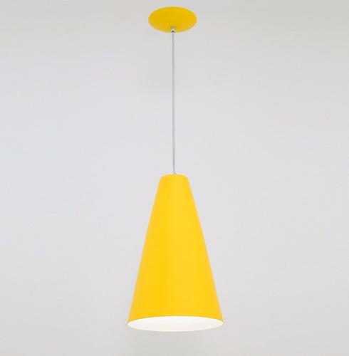 lustre pendente madri - amarelo - auremar - varias cores