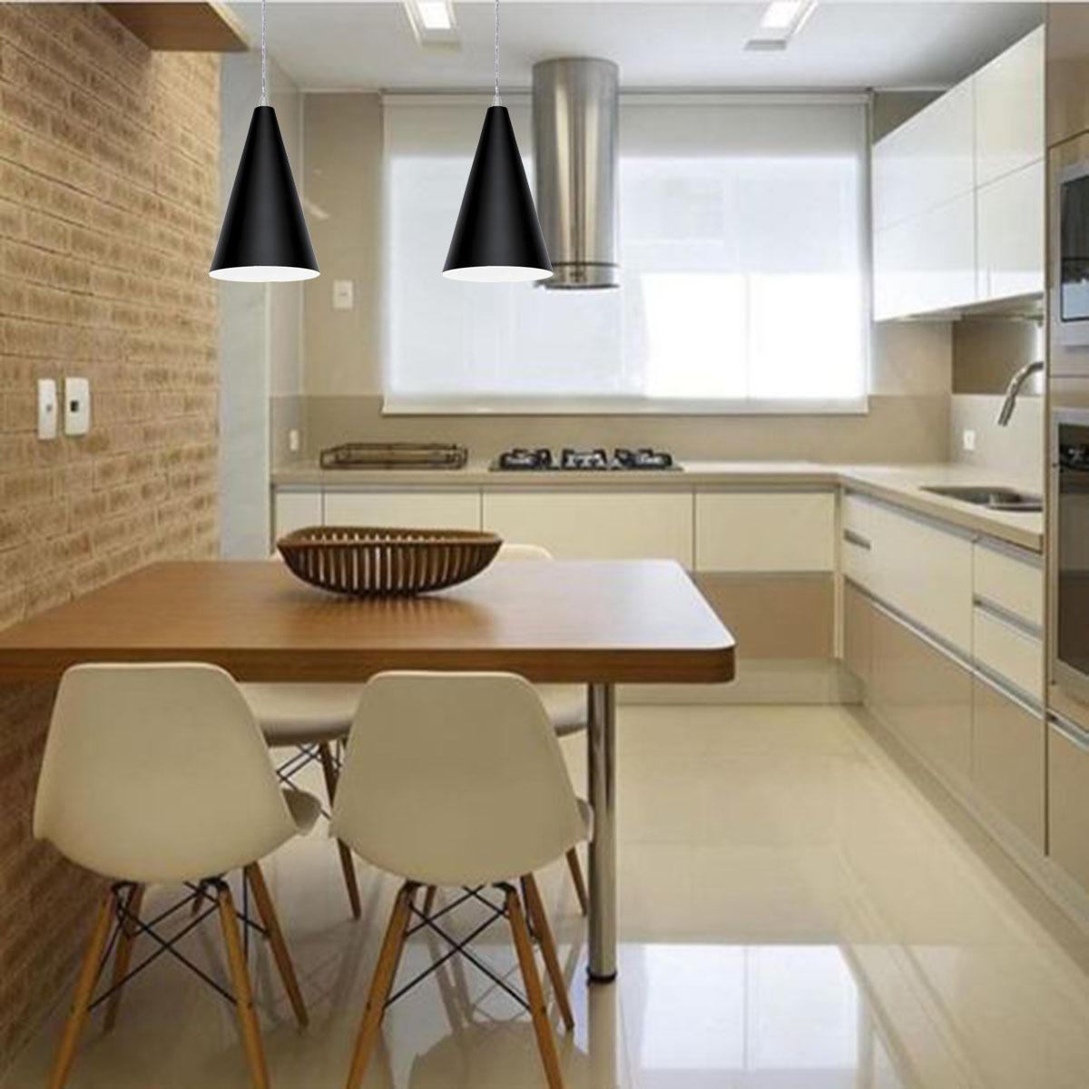 Lustre Pendente Para Cozinha Americana Cone 25×15 Cm R 63 79 Em