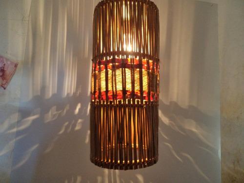 lustre pendente sambambaia , artesanal pico dasartes