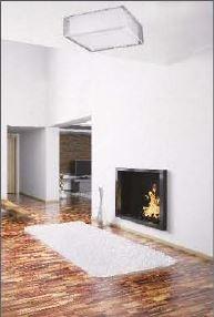 lustre plafon bronzearte lace quadrado 45cm 4 lâmpadas