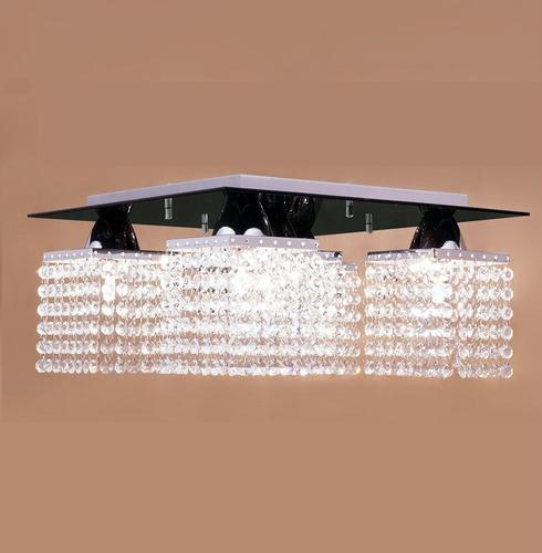lustre plafon pamplona - preto - auremar