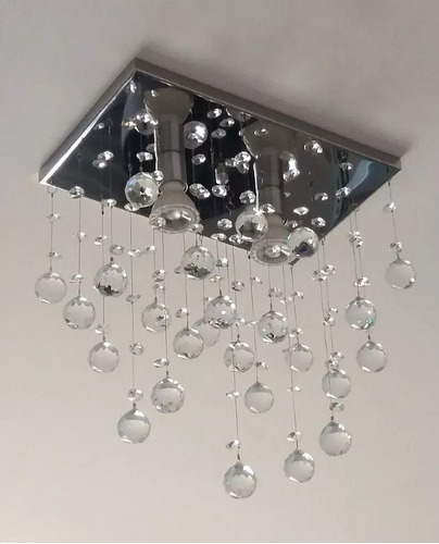 lustre plafon pendente de cristal legítimo-lavabo e corredor