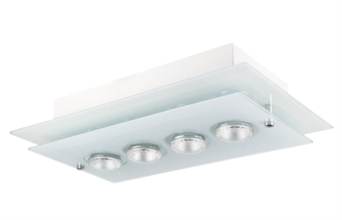 Lustre Retangular P 4lamp Grande Sala Jantar Cozinha N4 R 238 99
