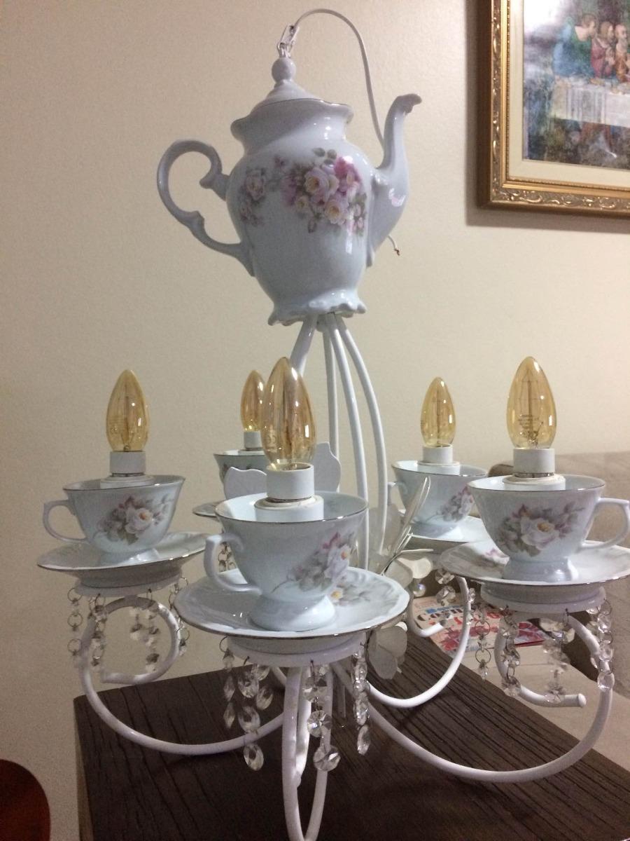 Lustre Xícaras E Bule Porcelana Schimith R 140000 Em Mercado Livre