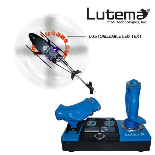 lutema 2.4ghz. heligram flight simulator r/c helicopter