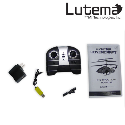 lutema avatar hovercraft 4ch remote control helicopter -