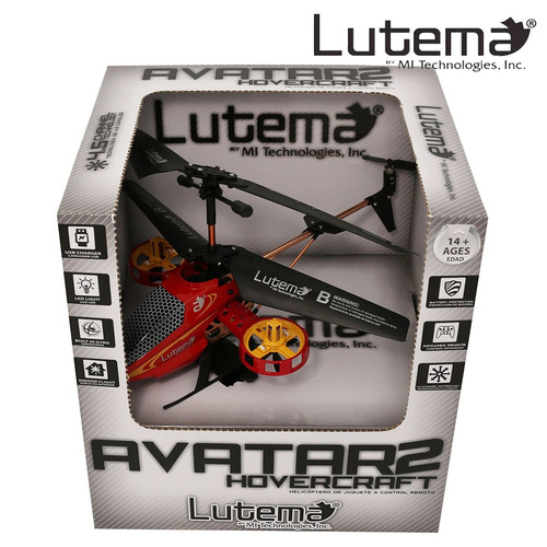 lutema avatar2 hovercraft 4ch remote control helicopter -