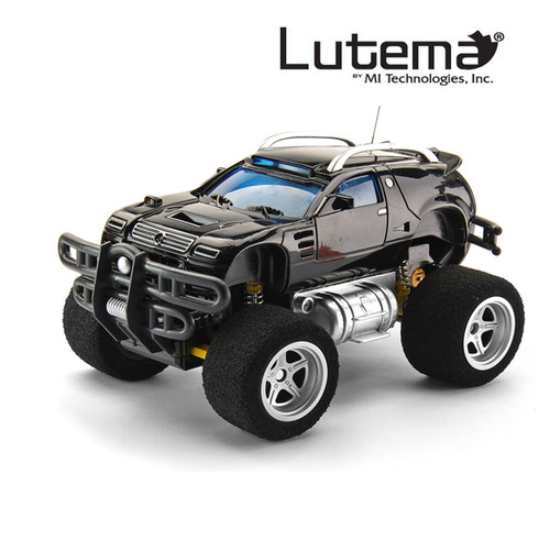 lutema tracer overlord 4ch remote control truck - black