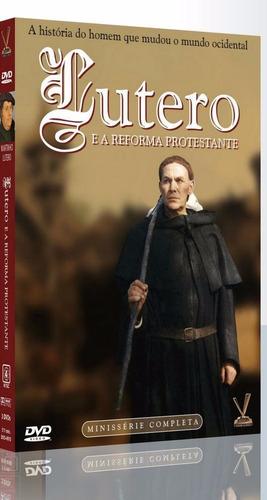 lutero e a reforma protestante - box com 3 dvds - novo