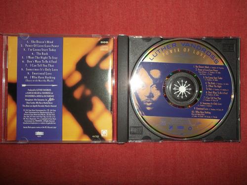 luther vandross - power of love cd usa ed 1991 mdisk