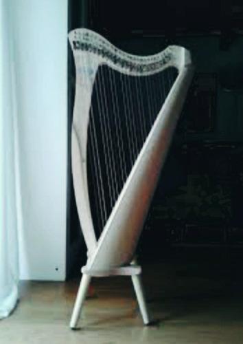 luthier aprenda a fazer harpa celta 22 cordas e 3 oitavas