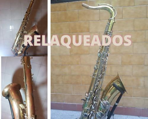 luthier de saxos flautas y clarinetes