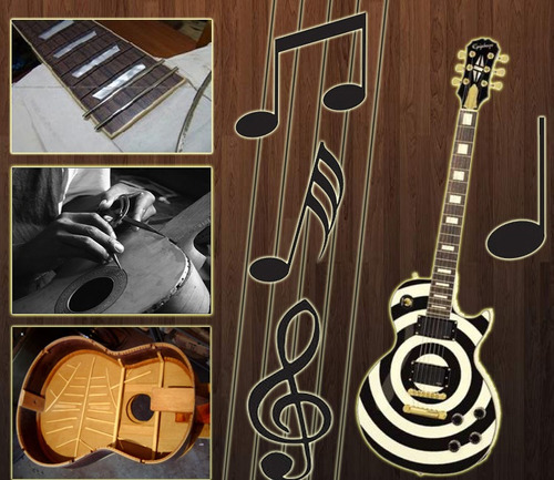 luthier gallery - projetos de luthieria, plantas, reparos...
