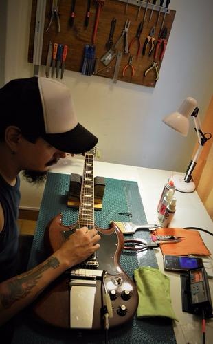 luthier pablo erco reparacion construccion guitarras bajos