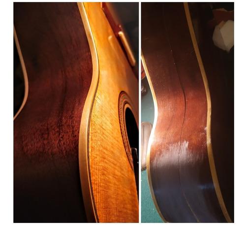 luthier reparacion calibracion guitarra bajo ukelele