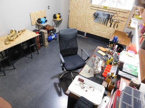luthier - reparación de saxos  serv. retiro y entrega a dom.
