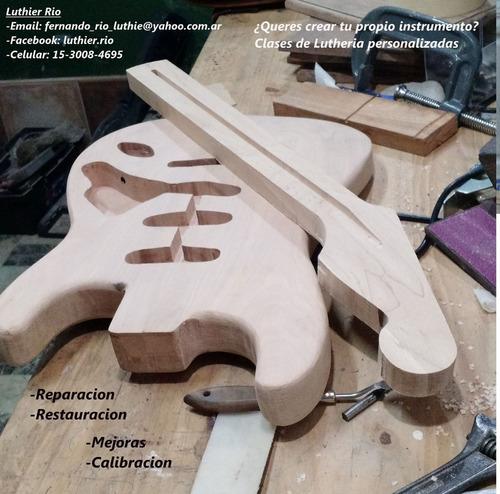luthier zona sur, clases, reparaciones, restauraciones