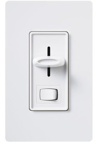 Lutron Diva Dimmer Switch 600 Watt Single Pole Magnetic Low Voltage Light Almond