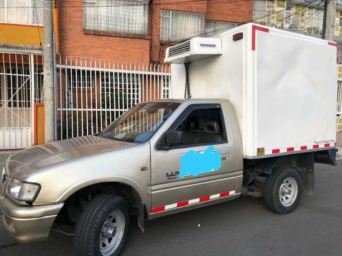 luv 2.2 mpfi 4x2 furgon en fibra refrigerado
