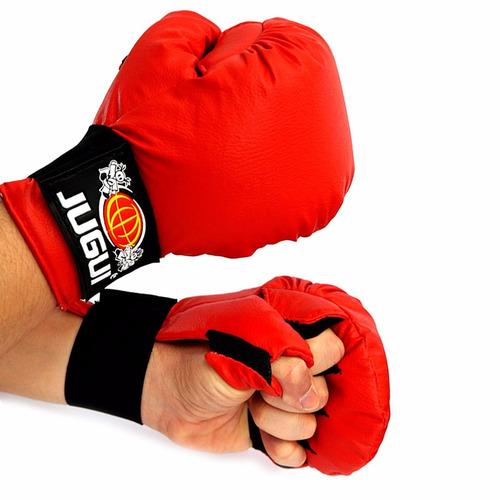 luva adulto ou infantil para karate - jugui diversas cores