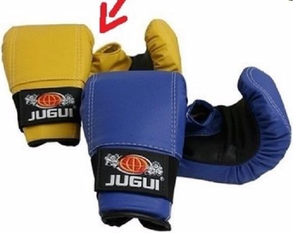 Luva Bate Saco P  Adulto Boxe Muay Thai Karate Kung Fu - R  299 4d5160e8312e5