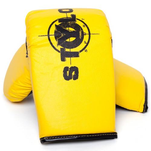 luva bate saco stylo power amarela- preço de fábrica!