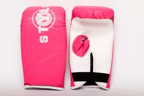 luva bate saco stylo power rosa - preço de fábrica!