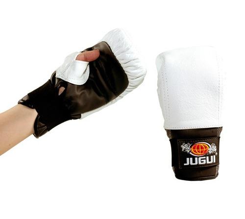 luva bate-saco tradicional couro(boxe, muay thai)