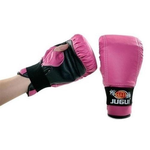 luva bate saco vinil tradicional boxe / muay thay div. cores