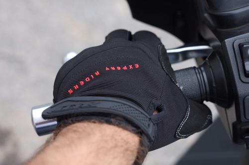 luva bicicleta motocross bike moto x11 nitro win touchscreen