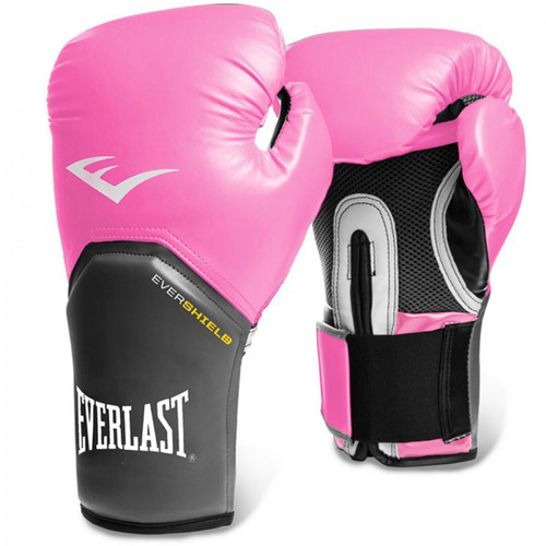 daaaac063 Luva Boxe Everlast Pro Style Elite 8 Oz + 2 Bandagens Rosa - R  193 ...