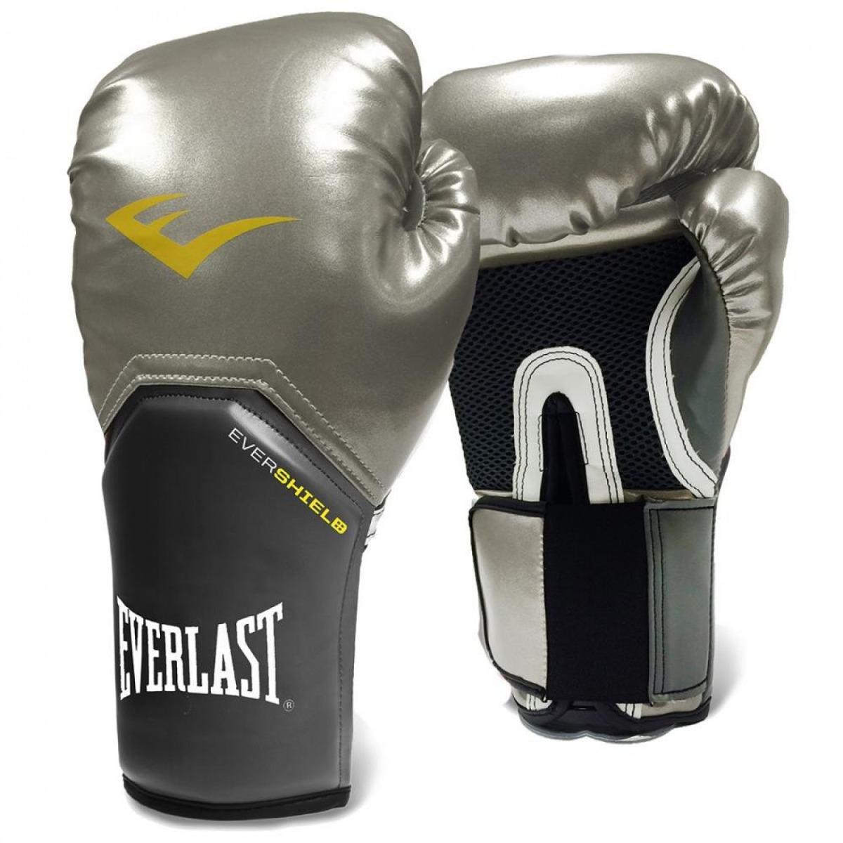 effcaeca9e luva boxe everlast pro style elite training 10 oz prateada. Carregando zoom.