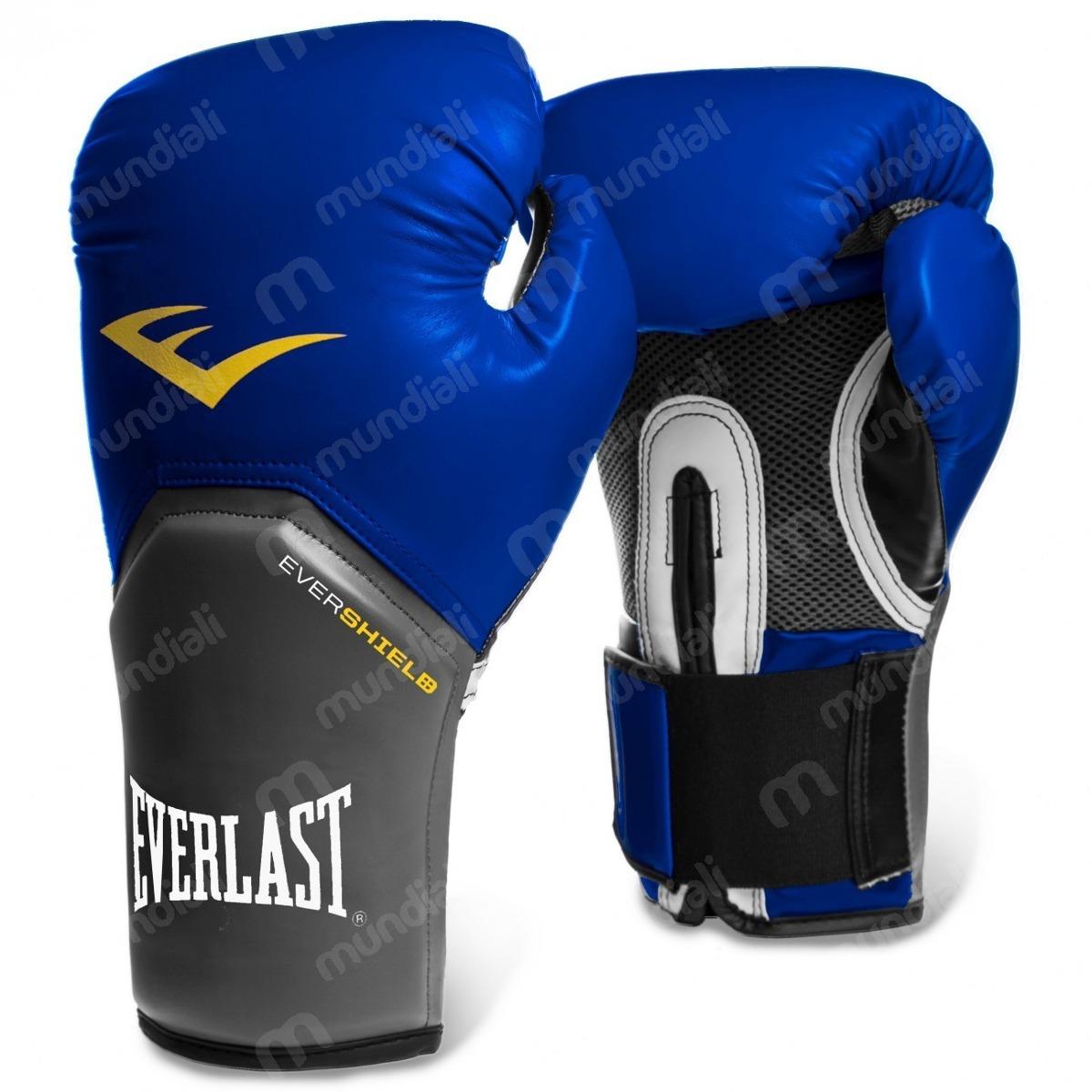 7984ad641 luva boxe everlast pro style elite training 12 oz azul. Carregando zoom.