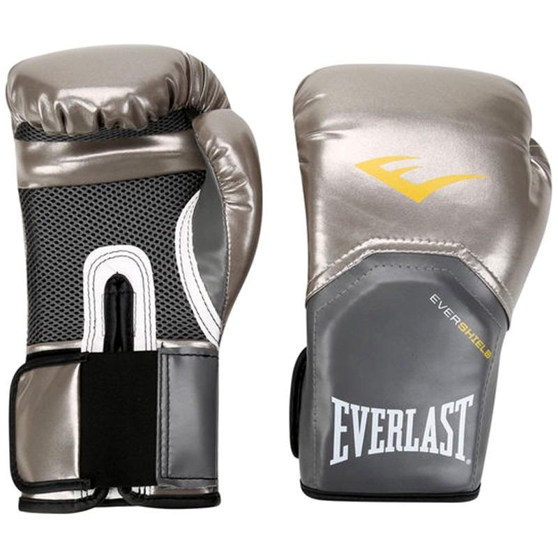 56dccdbf89 luva boxe muay elite pro style everlast prata - prateada. Carregando zoom.