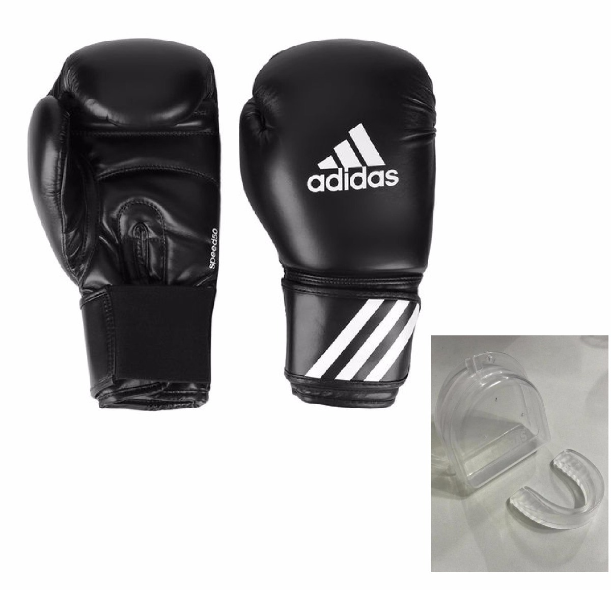 00454a349 luva boxe  muay thai adidas speed 50 preta 10oz+bucal brinde. Carregando  zoom.