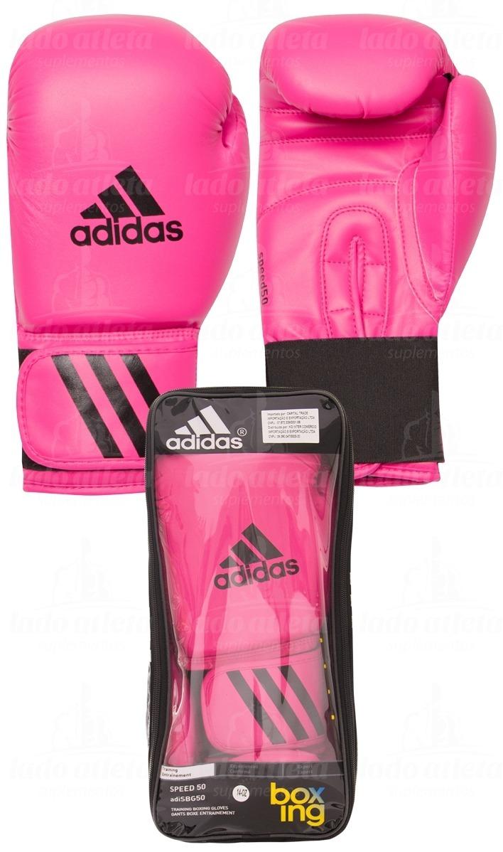 4917f81bf luva boxe muay thai adidas speed 50  rosa . Carregando zoom.