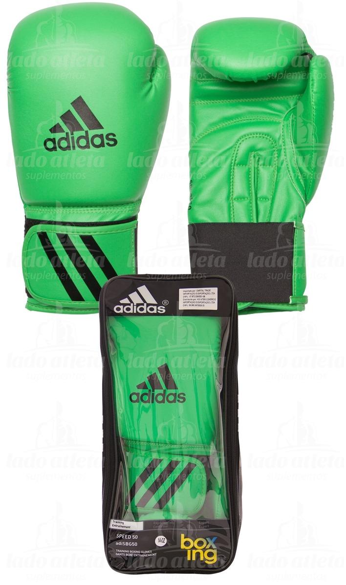 73d3beaa9 luva boxe muay thai adidas speed 50  verde . Carregando zoom.