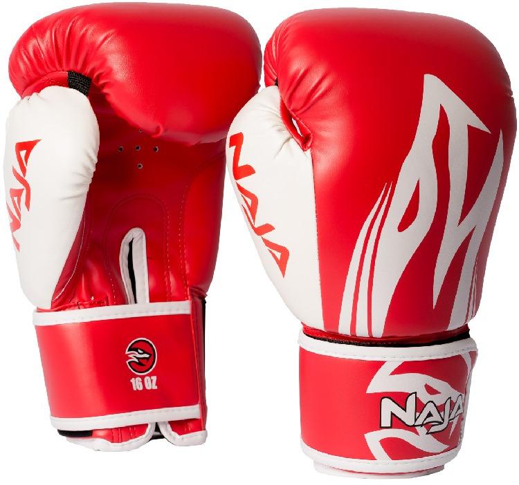 69700ba80 Luva Boxe  Muay Thai Naja Extreme Vermelha 12oz Original - R  149