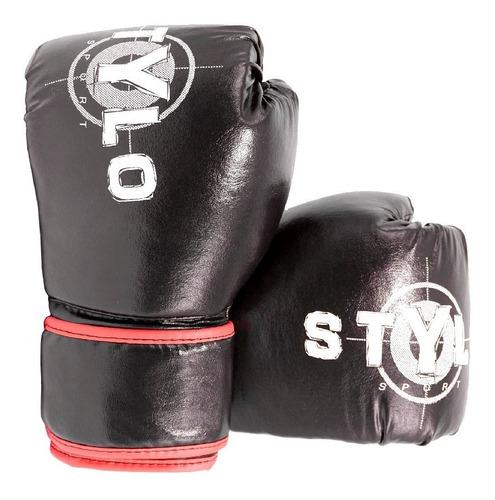 luva boxe / muay thai profissional - queima de estoque!