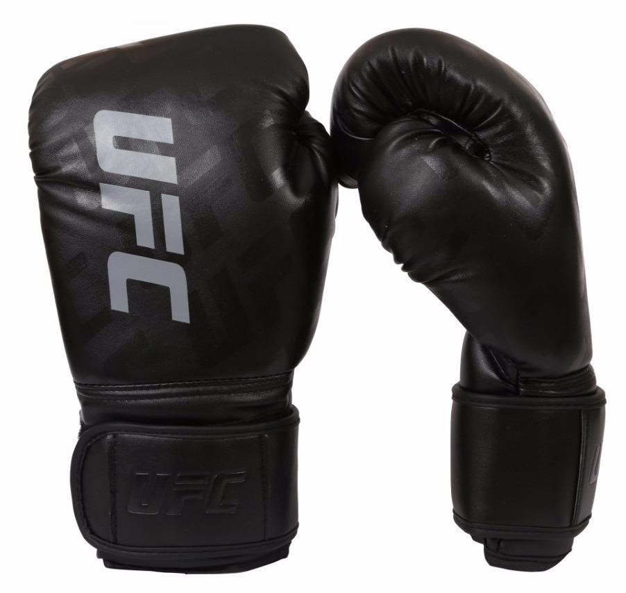 429cc253567 luva boxe muay thai ufc preta tamanho 14oz. Carregando zoom.