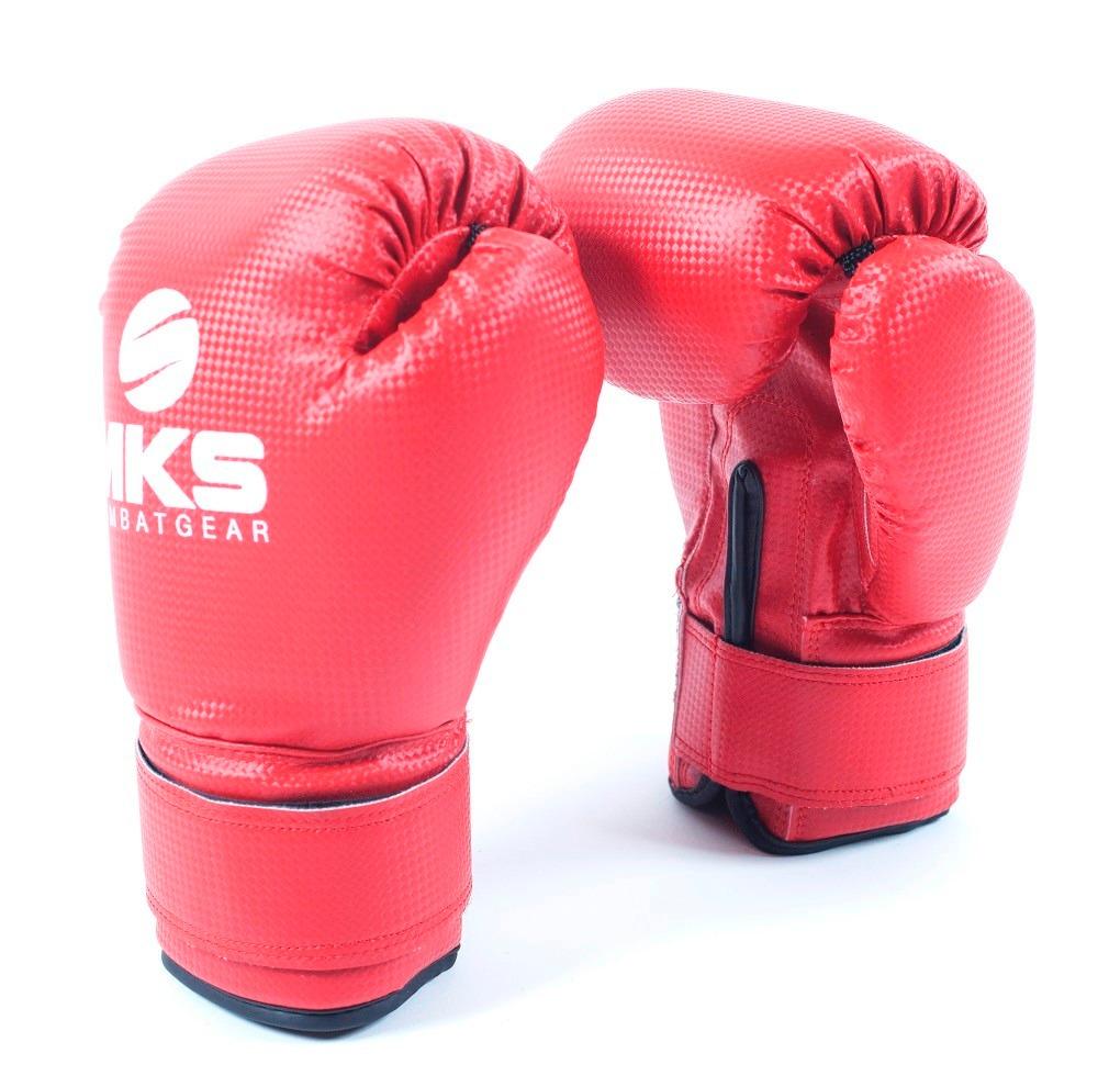 15202fe6c luva boxe prospect mks - 14 oz - vermelha. Carregando zoom.